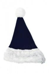 d6b5c0814ce9d2 granatowa dziecięca czapka Mikołaja, czapka Mikołaja dla dzieci, dziecka