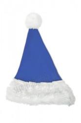fa2154691592d3 niebieska dziecięca czapka Mikołaja, czapka Mikołaja dla dzieci, dziecka