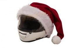 d1b65e6ecd9a03 czapka Mikołaja na kask motocyklowy, czapka Mikołaja na motor