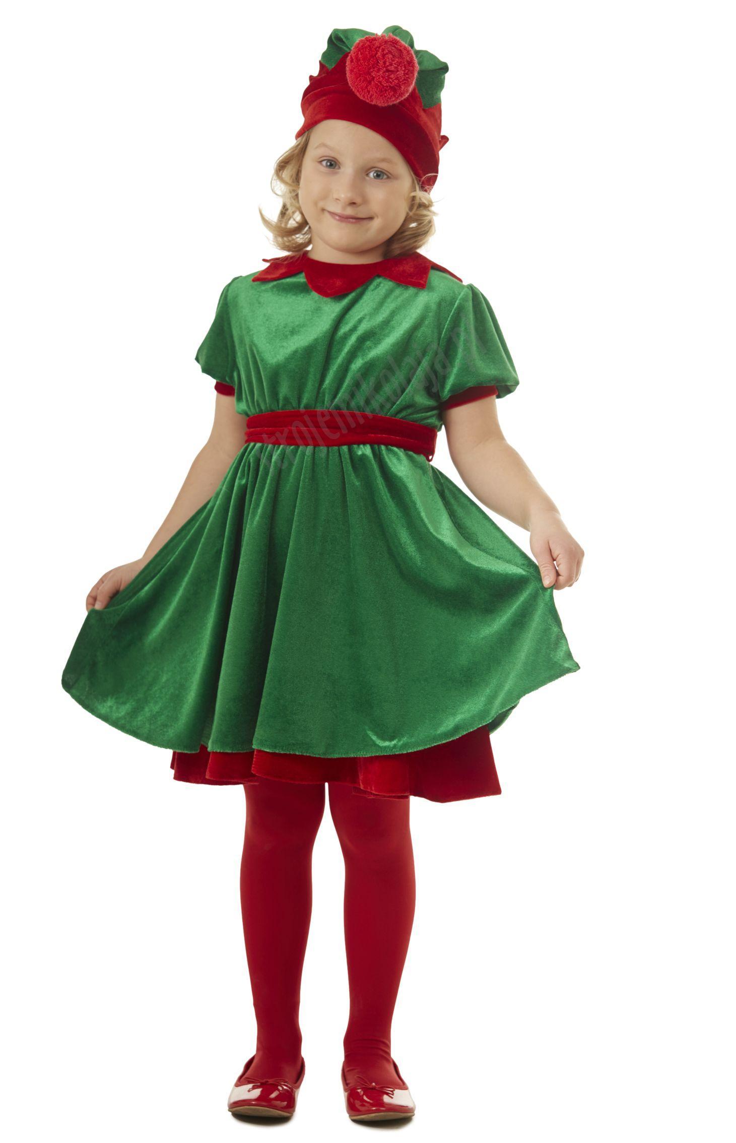 25d9b701d0 Strój Elfa dla dziewczynki – strojemikolaja.pl